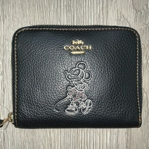 Coach Mickey Mouse Wallet